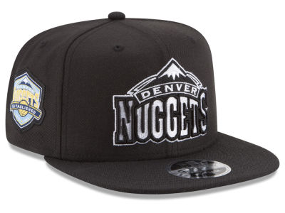 Denver Nuggets New Era NBA Anniversary Patch 9FIFTY Snapback Cap
