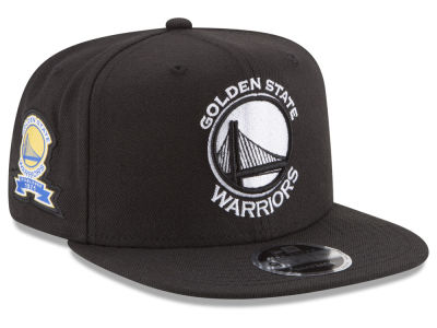 Golden State Warriors New Era NBA Anniversary Patch 9FIFTY Snapback Cap