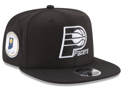 Indiana Pacers New Era NBA Anniversary Patch 9FIFTY Snapback Cap