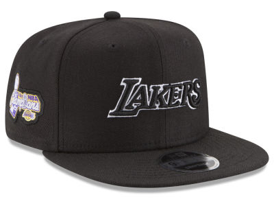 Los Angeles Lakers New Era NBA Anniversary Patch 9FIFTY Snapback Cap