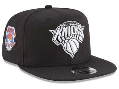 New York Knicks New Era NBA Anniversary Patch 9FIFTY Snapback Cap