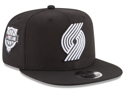 Portland Trail Blazers New Era NBA Anniversary Patch 9FIFTY Snapback Cap