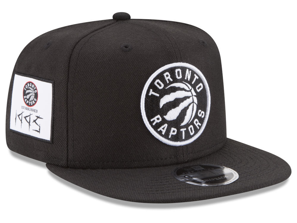 3fc38cae3bb Toronto Raptors New Era NBA Anniversary Patch 9FIFTY Snapback Cap ...