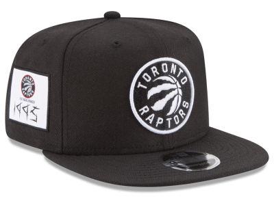 f469b497150 Toronto Raptors New Era NBA Anniversary Patch 9FIFTY Snapback Cap