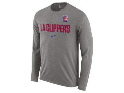 Los Angeles Clippers Nike NBA Men's Essential Facility Long Sleeve T-Shirt