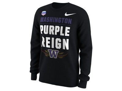 Washington Huskies Nike 2018 NCAA Men's Bowl Bound Verbiage Long Sleeve T-Shirt