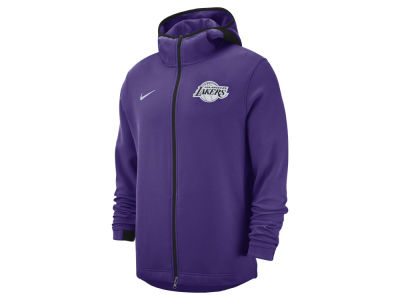 Los Angeles Lakers Nike NBA Men s Dry Showtime Full Zip Hoodie 9cc8e98c6