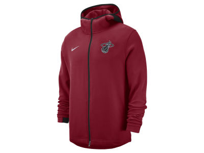 Miami Heat Nike NBA Men's Dry Showtime Full Zip Hoodie