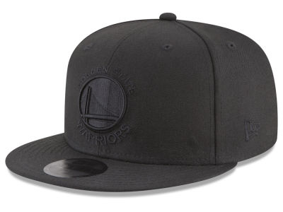 Golden State Warriors New Era NBA Blackout 59FIFTY Cap
