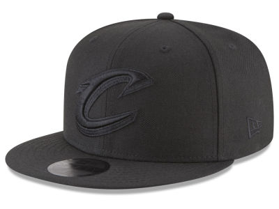 Cleveland Cavaliers New Era NBA Blackout 59FIFTY Cap