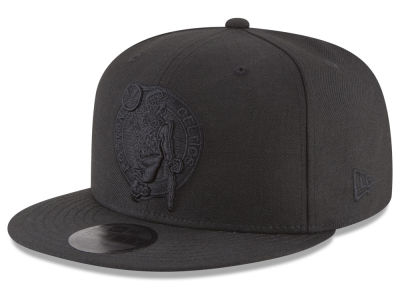 Boston Celtics New Era NBA Blackout 59FIFTY Cap