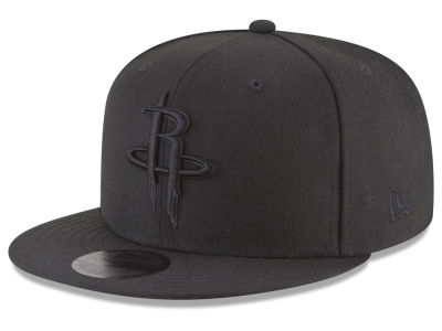 Houston Rockets New Era NBA Blackout 59FIFTY Cap