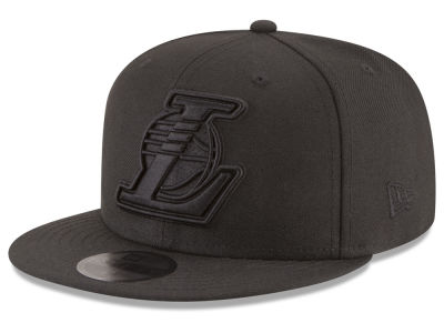 Los Angeles Lakers New Era NBA Blackout 59FIFTY Cap