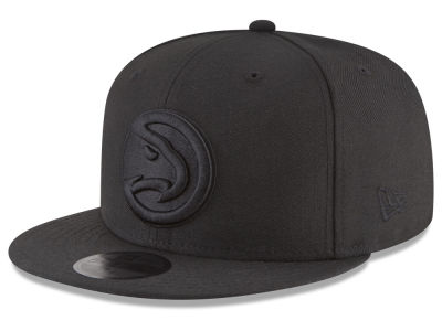 Atlanta Hawks New Era NBA Blackout 59FIFTY Cap