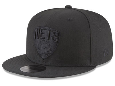 Brooklyn Nets New Era NBA Blackout 59FIFTY Cap