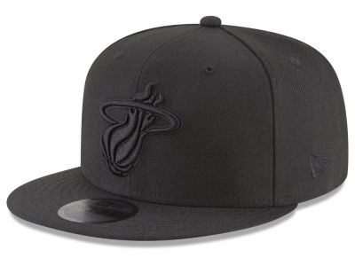 Miami Heat New Era NBA Blackout 59FIFTY Cap