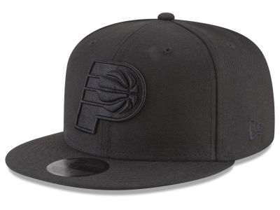 Indiana Pacers New Era NBA Blackout 59FIFTY Cap