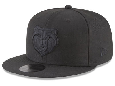 Memphis Grizzlies New Era NBA Blackout 59FIFTY Cap