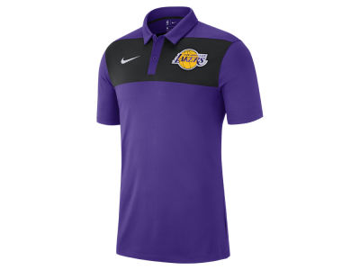 Los Angeles Lakers Nike 2018 NBA Men's Statement Polo