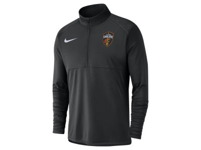 Cleveland Cavaliers Nike NBA Men's Dry Long Sleeve Half Zip Element Pullover