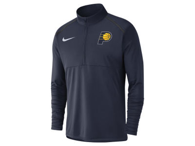 Indiana Pacers Nike NBA Men's Dry Long Sleeve Half Zip Element Pullover