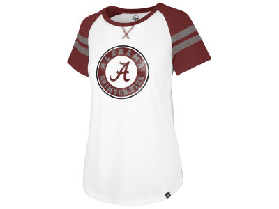 Alabama Crimson Tide '47 NCAA Women's Fly Out Raglan T-Shirt