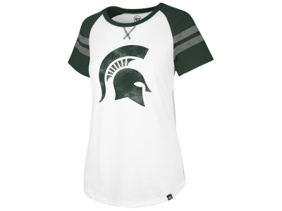 Michigan State Spartans '47 NCAA Women's Fly Out Raglan T-Shirt
