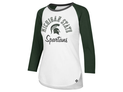 Michigan State Spartans '47 NCAA Women's Script Splitter Raglan T-shirt