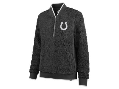 Indianapolis Colts '47 NFL Women's Sherpa Quarter Zip Pullover