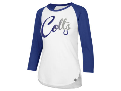 8b2f854b8 Indianapolis Colts  47 NFL Women s Gradient Script Raglan Long Sleeve T- Shirt