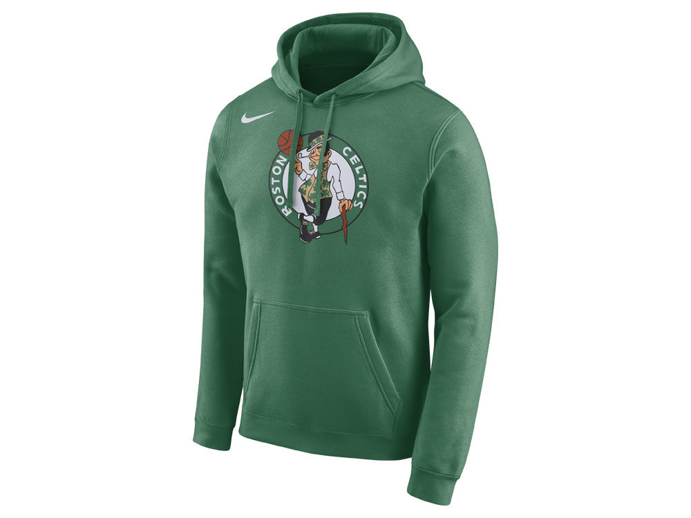 Boston Celtics Nike NBA Men s Essential Logo Pullover Hoodie  438e19776b9