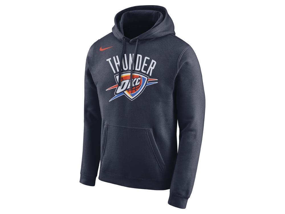 41c74a221f13 Oklahoma City Thunder Nike NBA Men s Essential Logo Pullover Hoodie ...