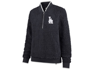 Los Angeles Dodgers '47 MLB Women's Sherpa Quarter Zip Pullover