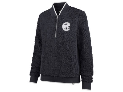 Chicago Cubs '47 MLB Women's Sherpa Quarter Zip Pullover