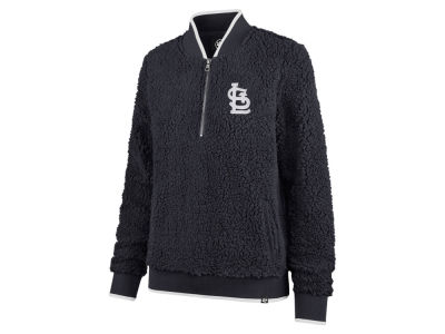 St. Louis Cardinals '47 MLB Women's Sherpa Quarter Zip Pullover