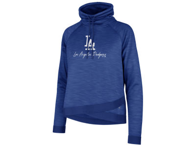 Los Angeles Dodgers '47 MLB Women's Commuter Funnelneck Hooded Sweatshirt