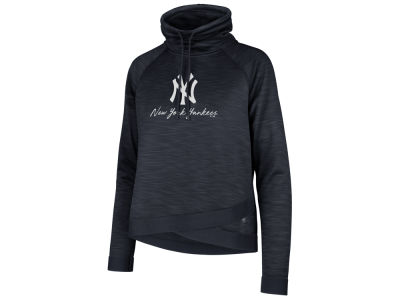 New York Yankees '47 MLB Women's Commuter Funnelneck Hooded Sweatshirt