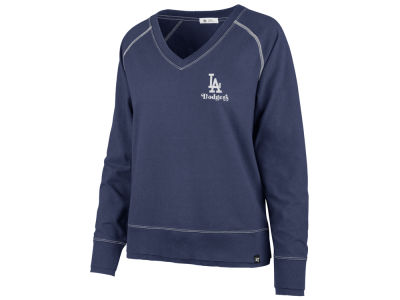 Los Angeles Dodgers '47 MLB Women's Dakota Jumper Pullover Sweatshirt