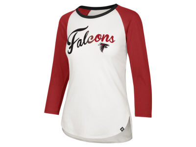 Atlanta Falcons '47 NFL Women's Splitter Ombre Raglan T-shirt