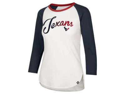 Houston Texans '47 NFL Women's Splitter Ombre Raglan T-shirt