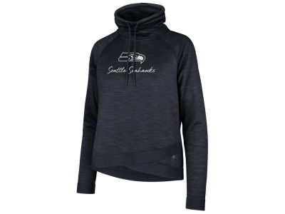 Seattle Seahawks '47 NFL Women's Commuter Funnelneck Sweatshirt
