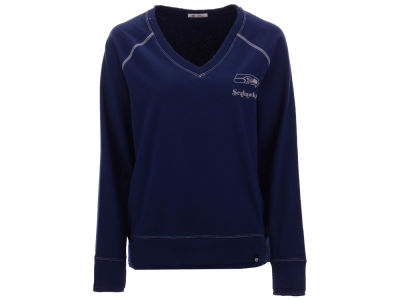 Seattle Seahawks '47 NFL Women's Dakota Jumper Pullover Sweatshirt