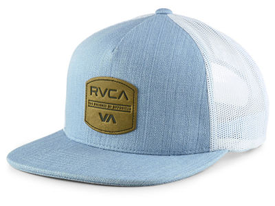 RVCA Denim Trucker Cap