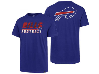 Buffalo Bills '47 NFL Men's Fade Back Super Rival T-Shirt