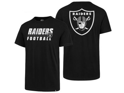 Oakland Raiders '47 NFL Men's Fade Back Super Rival T-Shirt