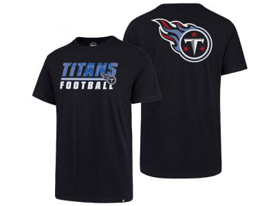 Tennessee Titans '47 NFL Men's Fade Back Super Rival T-Shirt
