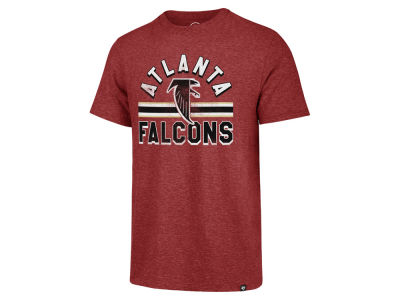 Atlanta Falcons '47 NFL Men's Team Stripe Match Tri-blend T-Shirt