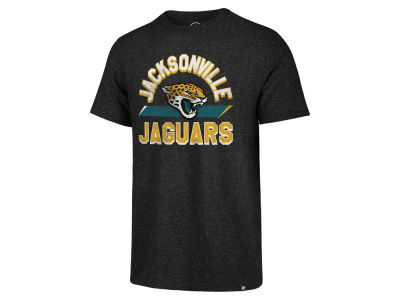 Jacksonville Jaguars '47 NFL Men's Team Stripe Match Tri-blend T-Shirt