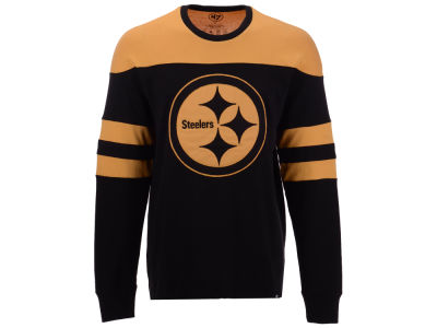 Pittsburgh Steelers '47 NFL Men's Gunner Crew Long Sleeve T-shirt