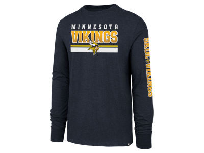 Minnesota Vikings '47 NFL Men's Scramble Long Sleeve Club T-Shirt